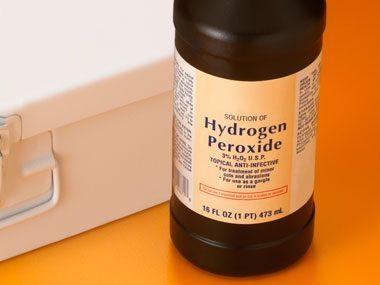 Le peroxyde d'hydrogène : pour tuer les germes