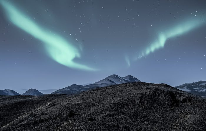 Au Canada se trouve le lieu habité le plus au nord de la planète (Nunavut).