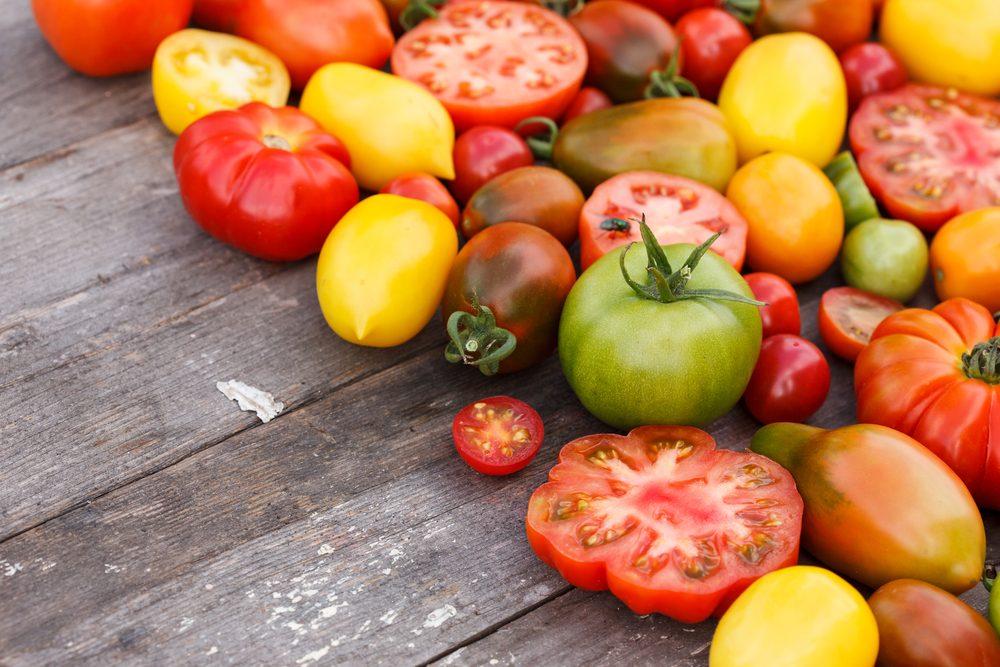 Où conserver vos tomates?