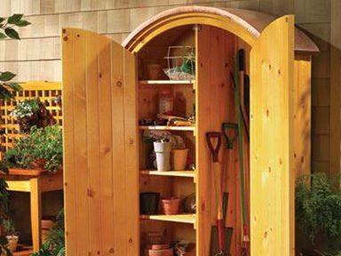 Construire un magnifique cabinet de rangement extérieur