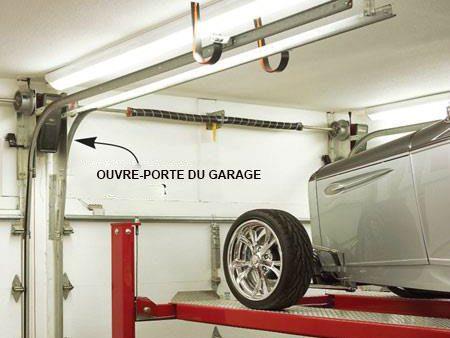 Modifier la porte du garage pour de l'espace supplémentaire