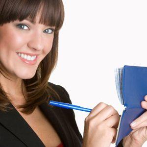 4. Mettez votre nom sur votre registre de paie