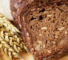 Pains de blé entier campagnards
