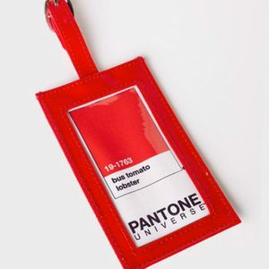 Étiquette à bagage Pantone