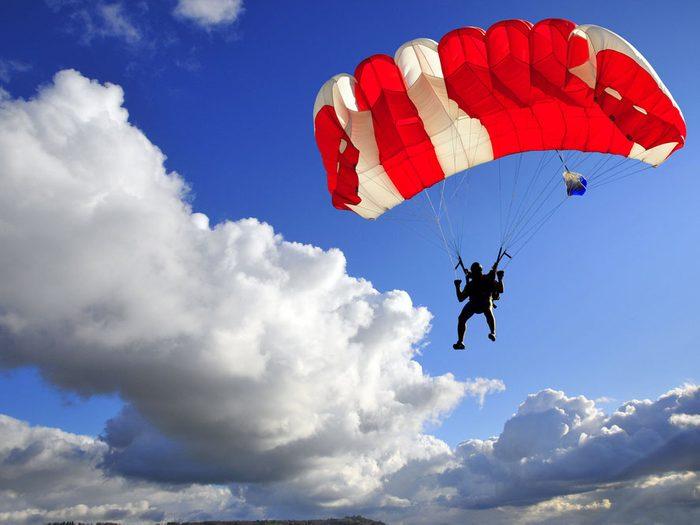 13. Parachute