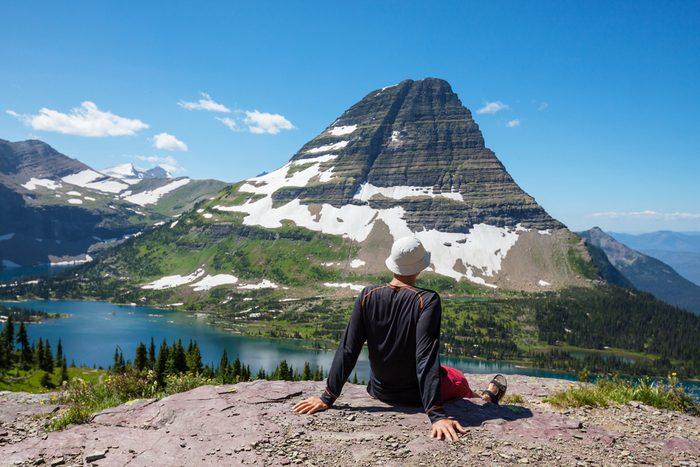 La randonnée au Le Parc National de Glacier est l'une des plus populaires au monde.