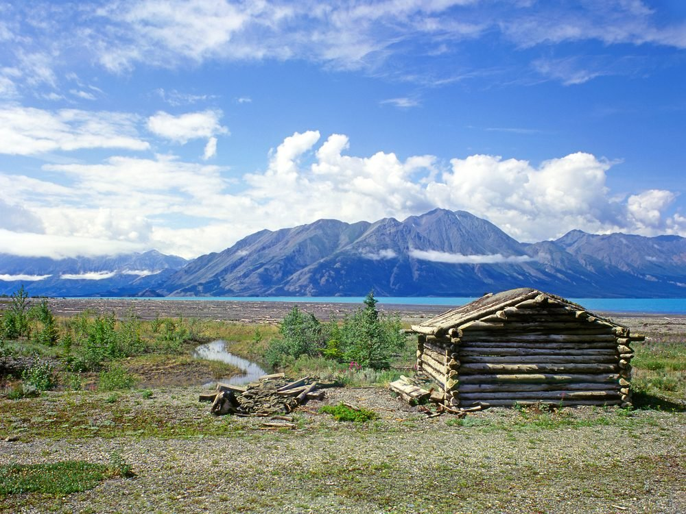 Parc national de Kluane, Yukon.