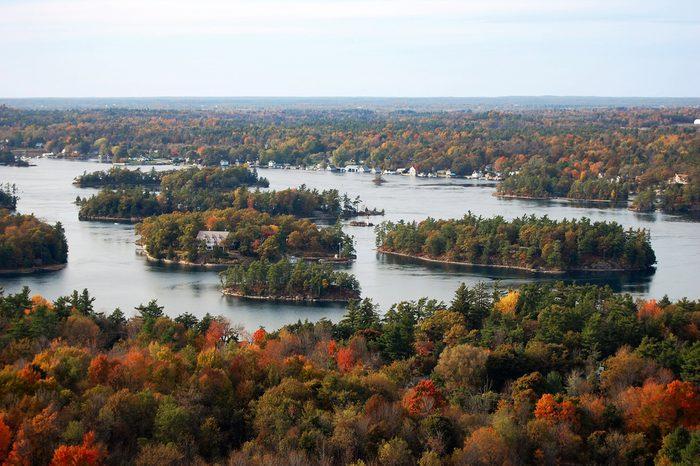 Découvrir le parc national des Mille-Îles, en Ontario