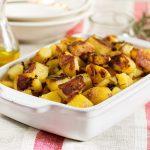 Pommes de terre à l'ail au four