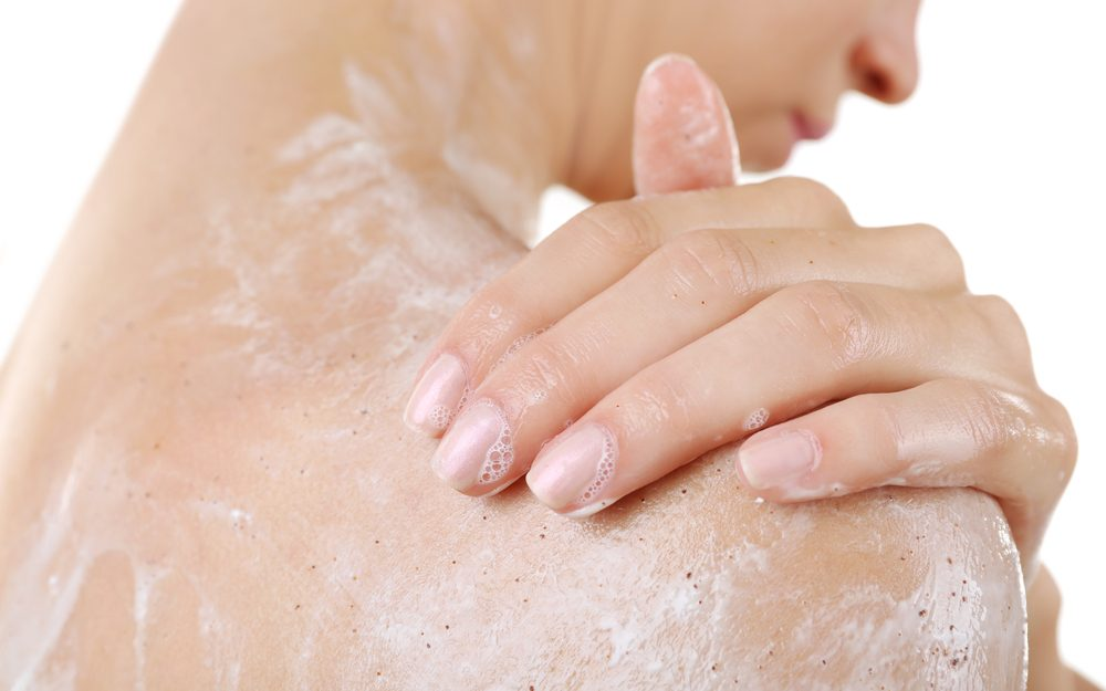 Le sel d'epsom peut servir de gommage.
