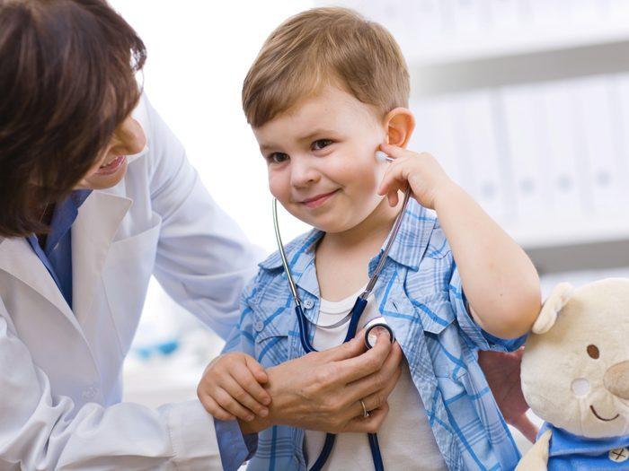 Quand l'amener voir le médecin