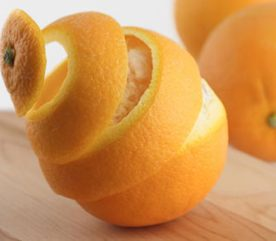 4. Les pelures d'orange font fuir les insectes nuisibles