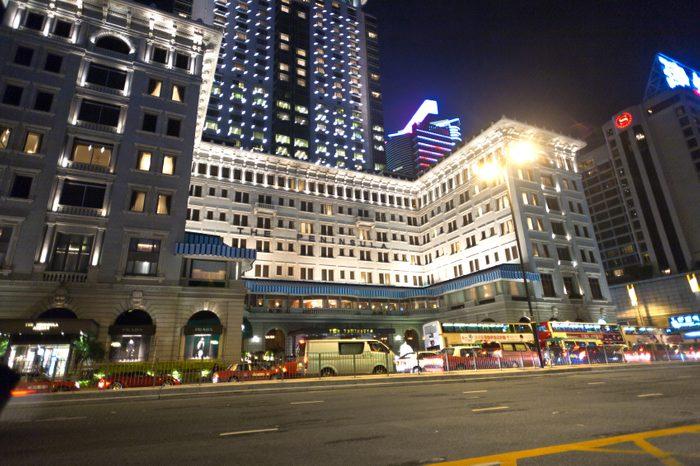 L'hôtel Peninsula