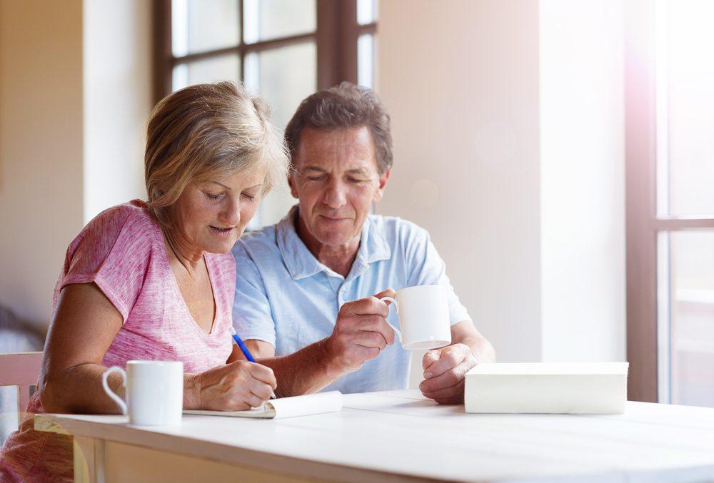 Les impôts et les couples retraités