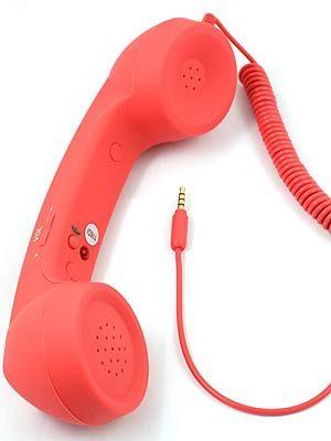 Combiné de téléphone rétro pour iPhone