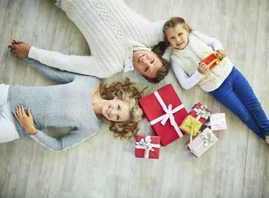 Comment bien paraître sur vos photos de famille à Noël