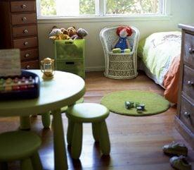 4. Peignez les meubles