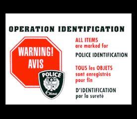 12. Adhérez à un programme de prévention du crime.