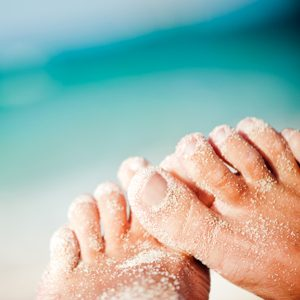 6. Éliminez les odeurs de pieds