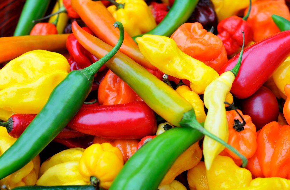 Le piment fort aide à brûler plus de graisses