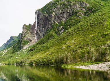 Chutes de Pissing Mare - Parc National de Gros Morne, Terre-Neuve
