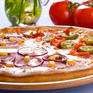6. Pizza à la mexicaine