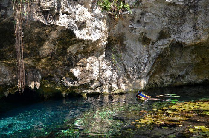 2. Gran Cenote, Mexique
