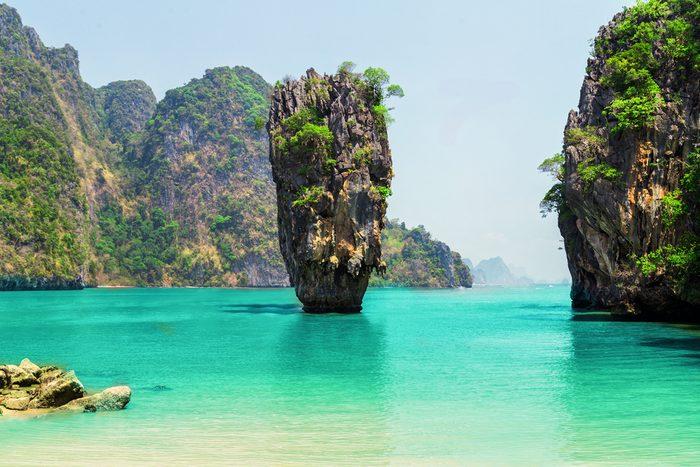 5. La magnifique plage James Bond en Thaïlande