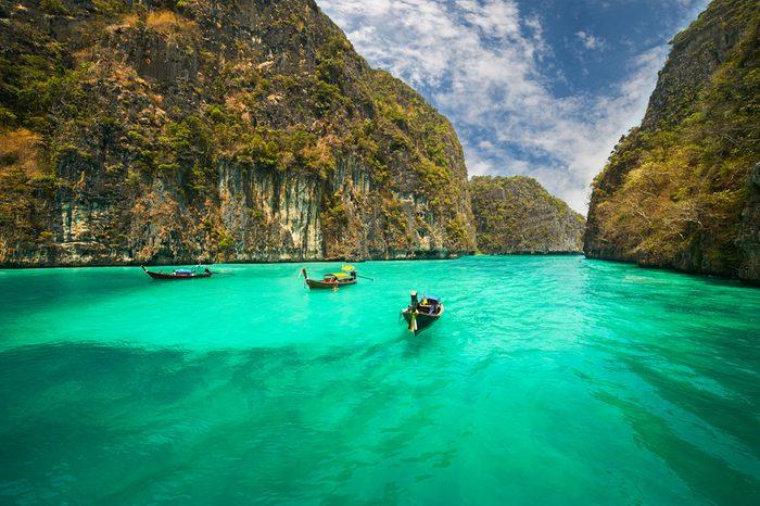 8. L'île Ko Phi Phi Don, Thaïlande