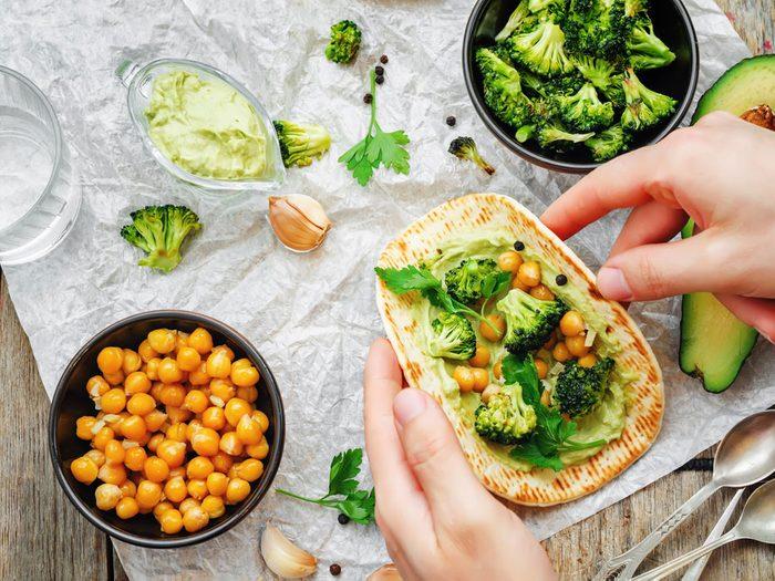 Une place de choix dans la cuisine végétarienne