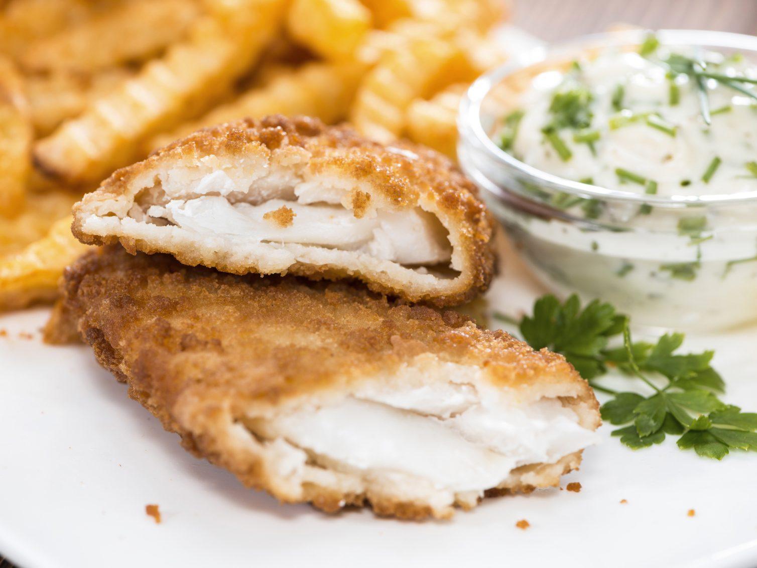 Une recette santé pour les hommes de poisson pané