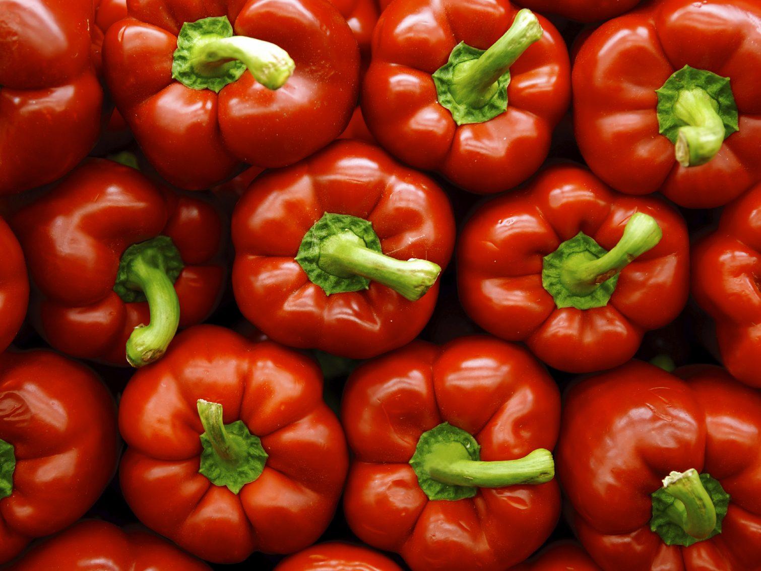 Les aliments riches en vitamines C,comme le poivron rouge ou vert, fortifie le système immunitaire.