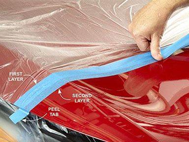 Appliquez soigneusement la première couche, puis la seconde couche directement en dessous.