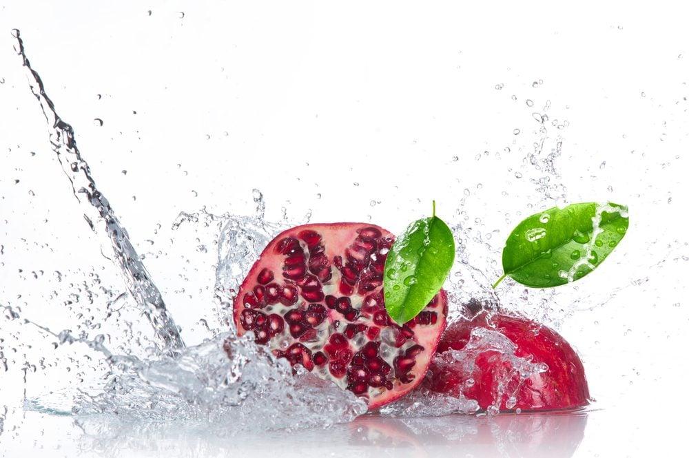 Pomme-grenade: plus riche en antioxydants que le thé et le vin rouge?