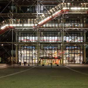 7. Le Centre Georges Pompidou: l'un des meilleurs attraits touristiques de Paris
