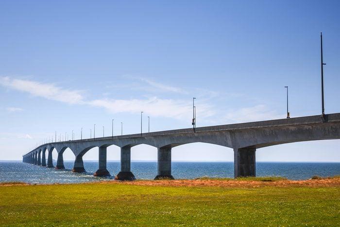 Un road trip de Port-Elgin à Borden-Carleton par le Pont de la confédération, entre l'Île-du-Prince-Edouard et le Nouveau-Brunswick