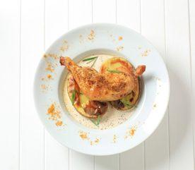 2. Attendrir la chair du poulet rôti