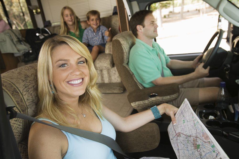 Pratiquez-vous à conduire avant votre voyage en véhicule motorisé