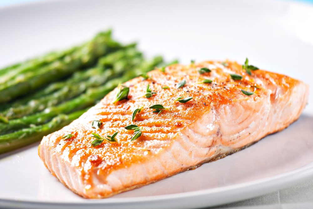 High protein foods help slim down and burn fat