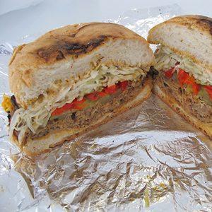 10. Les sandwichs de porc effiloché