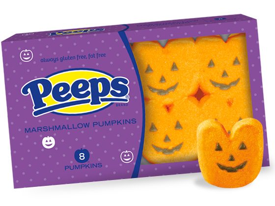 4 - Guimauves Peeps Pumpkins