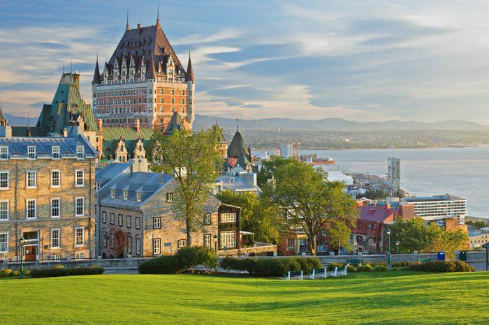 LA VILLE GAGNANTE: Québec