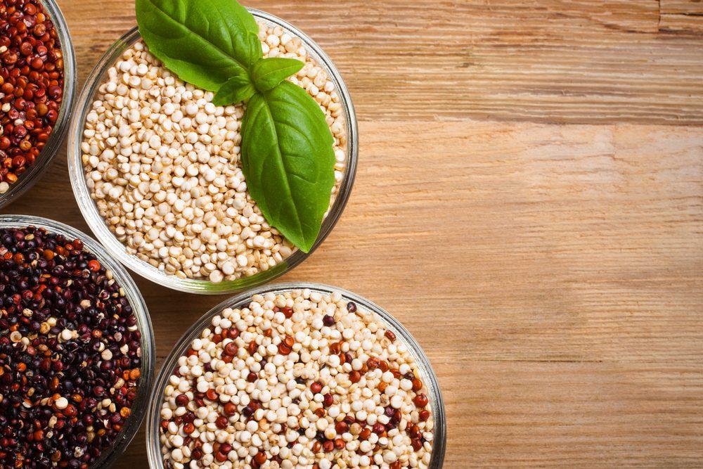 Le quinoa pour diminuer l'appétit, le poids et la graisse corporelle