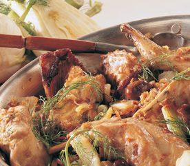 6. Casserole de lapin au Fenouil