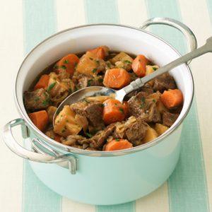 1.Ragoût de dinde aux légumes d'hiver
