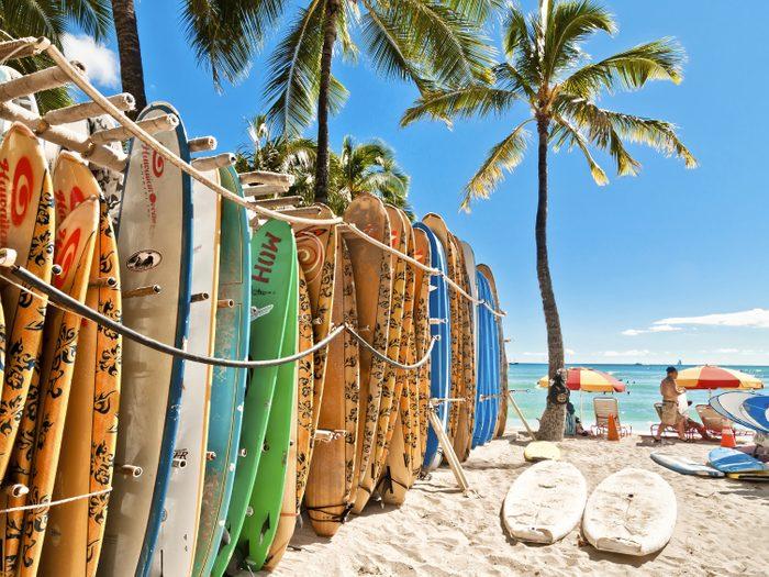 1. Pourquoi voyager à Hawaï? Toutes ses plages sont publiques!