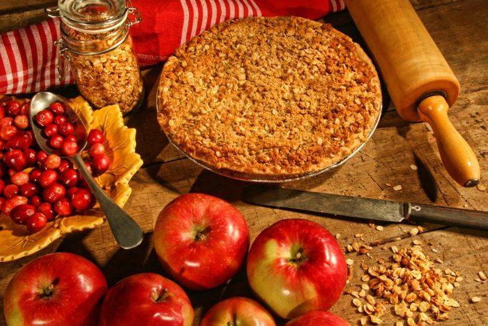 Croustade aux pommes.
