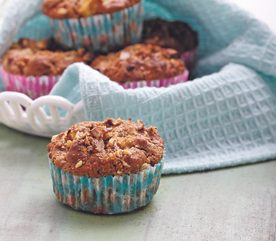 12. Muffins pommes carottes