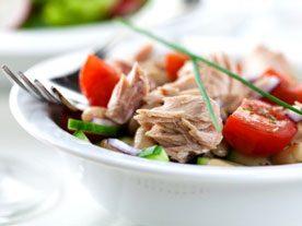 Recette de salade de thon à la française