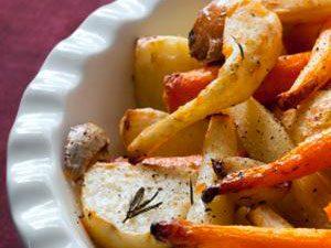7. Carottes et panais rôtis, une recette d'accompagnement typiquement québécoise